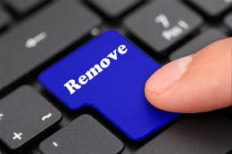 Remove key on keyboard